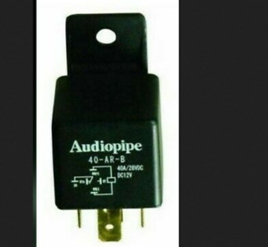 Car Relays 5 Pin (2 qty) 40 Amp 12 Volt SPDT Heavy Duty 5 Wire Aud
