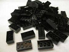 New Lego 2x4 Black Bricks Lot of 50 Brick
