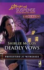 Deadly Vows (Love Inspired Large Print Suspense)