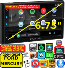 04-16 Ford F & E Series Wireless Apple Carplay Android Auto Car Navigation Radio