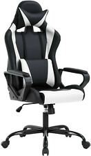 High Back Gaming Chair Pc Office Chair Racing Computer Chair Task Pu Desk Chair