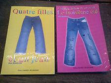 Quatre filles et un jean + le troisième été / Ann Brashares lot de 2 livres