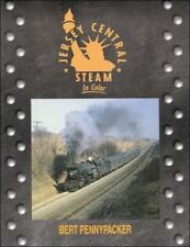 JERSEY CENTRAL STEAM in Color -- (NEW BOOK)