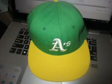 NWT 1972-82 OAKLAND A's 6 7/8 Wool Hat ROMAN PRO Cotton Sweat Band