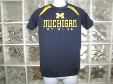 YOUTH COLOSSEUM ATHLETICS  MICHIGAN WOLVERINES GO BLUE SHIRT SIZE MEDIUM 12 - 14