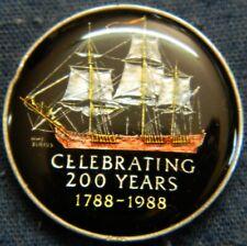 Rare 1988 Australia Celebrating 200 Years Building a Nation Enameled Coin/Token