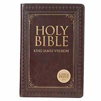 Holy Bible: KJV Large Print Thumb Index Edition: Brown (King James Bible)