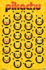 POKEMON - PIKACHU FACES POSTER 22x34 - 17184