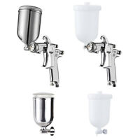 W101 400CC Spray Gun Cup With Paint Cup Plastic / Stainless Steel For Spray Gun