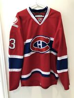 Vintage 2009 Montreal Canadiens Authentic Reebok CCM Mens Size Cammalleri Jersey