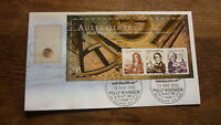 AUSTRALIA 99 STAMP EXPO FDC, EARLY NAVIGATOR AUST 99 SHEET, POLLY WOODSIDE PM 2