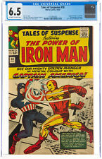 TALES OF SUSPENSE #58 CGC F/VF 6.5 - CLASSIC Cover: IRON MAN vs CAPTAIN AMERICA