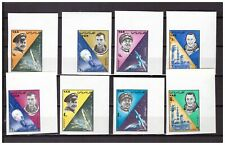 S26944) Yemen Arab Rep.1966 MNH Space 8v Imperforated