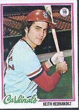 1978 Topps Keith Hernandez #143 Baseball Card
