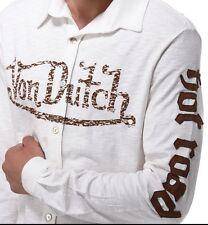 Camisa manga larga blanco XXL de Von Dutch. ORIGINAL