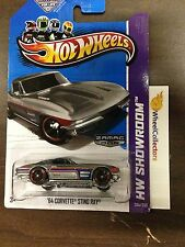 '64 Corvette Sting Ray #204 * ZAMAC * 2013 Hot Wheels G2