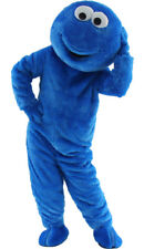 Sesame Street Cookie Monster Mascot Costume Party  Adult Size Halloween blue