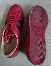 Gucci Red Trainers Size 10 GENUINE