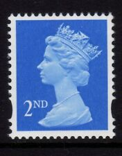 GB 1993 Machin Definitive 2nd brt blue SG 1664 MNH (1 Centre band)