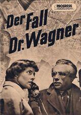 Progress Filmillustrierte Nr. 66/54 Der Fall Dr. Wagner ( Harald Mannl )