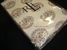 New Ralph Lauren Standard 2 Pillowcases set  ANTIGUA PAISLEY MOTIF PINK GREEN
