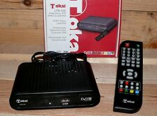 DVB-T Kabel Receiver Tokai LTN120 Mini TV Tuner PVR USB MPEG TV Guide FB Scart