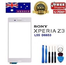 NEW Sony Xperia Z3 L55 D6653 Digitizer Touch Screen Glass Replacement White