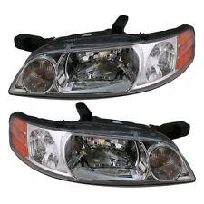 For 00-01 Nissan Altima Headlights Headlamps Lights Pair Set Left & Right