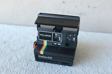 Vintage Polariod One Step 600 Land Instant Camera Rainbow Edition With Strap