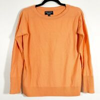 Banana Republic XS Womens Filpucci Merino Wool Cashmere Tipped Crewneck Sweater