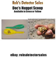 Doc's Plastic Gold Nugget Scoop - (Green) - Metal Detecting - Gold Prospecting