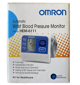 Omron Wrist Blood Pressure Monitor (HEM-6111)