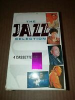 V/A * THE JAZZ SELECTION VOLUMES 1 - 4 * 4 X CASSETTE ALBUM BOXSET ( TRING )