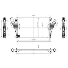 Ladeluftkühler - NRF 30858