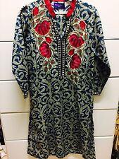 Authentic Sana Safinaz Designer Lawn Pakistani Indian Kurta Embroidered Shirt S