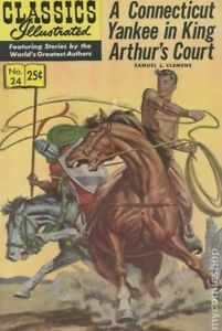 Classics Illustrated 024 A Yankee in King Arthur's Court #15 VG/FN 5.0 1971