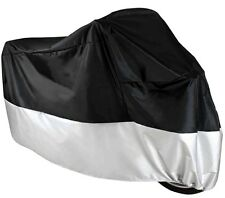 Motorcycle Cover Waterproof Cruiser Touring Bike Storage Scooter Race Motorbike