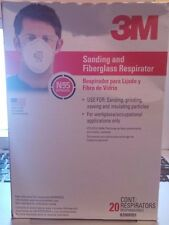 3M Tekk Protection 8000HB1 Sanding and Fiberglass Respirators 20-Pack Dust Mask