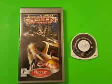 Need For Speed Carbon - Own the City - Sony Playstation Portable PSP Platinum