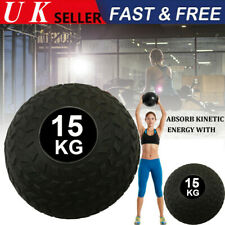 15kg Slam Ball No Bounce Easy Grip Fitness Bootcamp Crossfit Boxing Strength Gym
