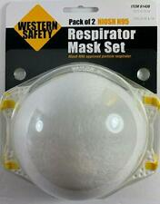 Western Safety Face Fine Dust And Particle Filter 2pc Package