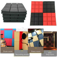 5pcs 30x30cm Acoustic Foam Panel Soundproof Absorption Sponge For Studio KTV