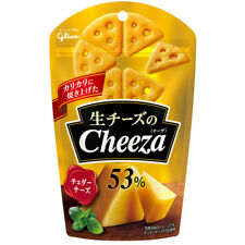 Glico Cheeza Cheddar Cheese Crackers Japanese Snack 40g