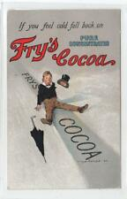 FRY'S COCOA: advertising postcard (C29900)