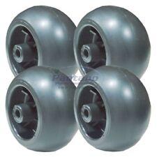 Set Of 4 Mower Deck Wheel Replaces Deere TCU18744 Gravely 092537