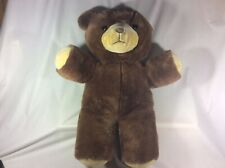 "Large Vintage Gerber Precious Plush Brown Teddy Bear 24"" # 76950 Made In Korea"