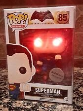 Funko Pop! BRIGHT RED LED Superman #85 NightVision Exclusive!