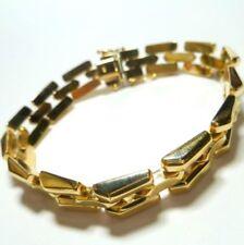 Pulseras de joyería de metales preciosos sin piedras de oro amarillo no aplicable