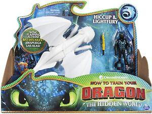 Spin Master 6052266 Dragons Tagschatten & Hicks Actionfigur Drache Wikinger