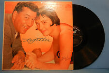 LOUIS PRIMA KEELY SMITH TOGETHER LP 1960 MONO ORIGINAL PRESS NICE COND! VG/VG!!A